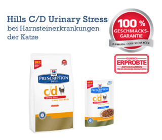 Hills C/D Urinary Stress Banner